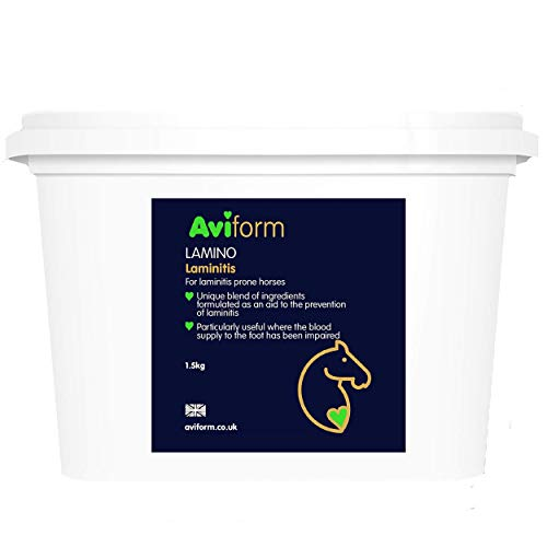 Lamino For Horses - Equine Laminitis Prevention Horse Supplement - Prevent And Support Horses And Ponies With Laminitis - 1.5kg