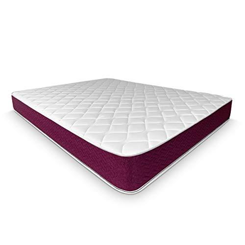 Duermete Online - Materasso una piazza e mezza 120x190 cm reversibile (lato invernale-estato) - Modello Lyla - Dispositivo medico detraibile
