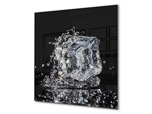 Pantalla anti-salpicaduras cocina – Frente de cocina de cristal templado – BS18...