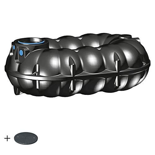 PREMIER TECH AQUA GmbH Zisterne 5000 Liter Regenwassertank NEO Basic inkl. Deckel TopCover - 35 Jahre Garantie - Kunststoff, Kunststoffzisterne, Komplettset