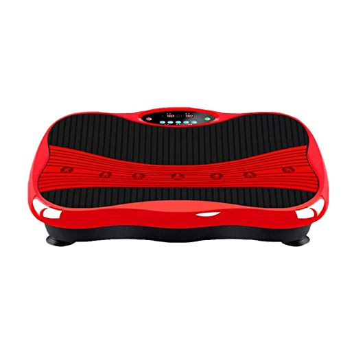 Afang 3D Vibrationsplatte Fitness, Curved Slim Design Fettverbrennung Muskelaufbau Leiser Motor, Leicht Bedienen Magnetfeldtherapie Massage Ultra Komfort