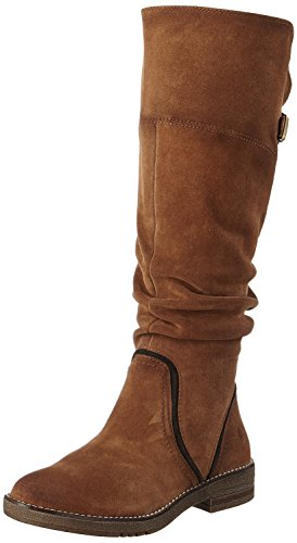 Be Natural Damen 25604 Stiefel, Braun (Rust), 38 EU