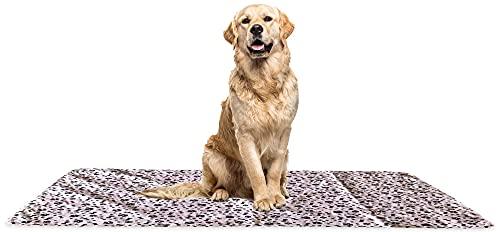 YOUR VIP SKIN - Empapador de Entrenamiento para Perro Extra Grande (140x100cm)Lavable y Reutilizable para Mascota Alfombras de adiestramiento caninas Impermeable Absorbente Antideslizante Almohadilla