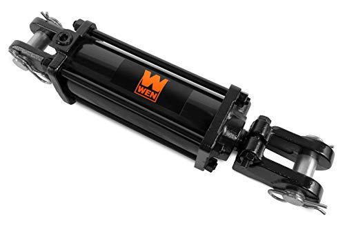 WEN TR3008 2500 PSI Tie Rod Hydraulic Cylinder with 3 in. Bore and 8 in. Stroke,Black