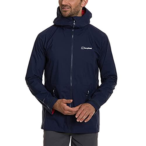 Cressi Berghaus Deluge Pro 2.0 - Chaqueta impermeable para hombre, Hombre, chaqueta impermeable, 4A000807R14, Azul (Dusk), XXL