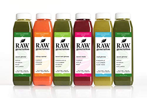 3-Day Skinny Cleanse by Raw Generation - Best Juice Cleanse to Lose Weight Quickly/Healthiest Way to Cleanse & Detoxify Your Body/Jumpstart a Healthier Diet