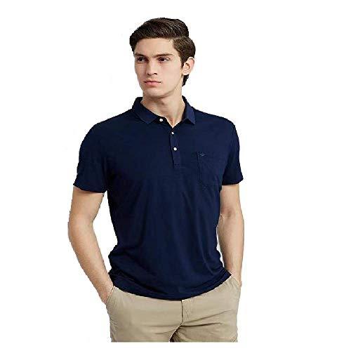 Boniyami Men's Slim Fit Polo Shirts Solid Short Sleeve Stretch Breathable Wic...  来自 @amazon