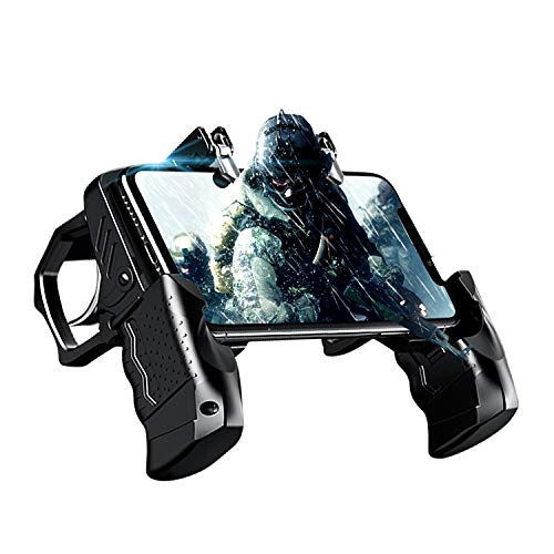 Newseego PUBG Mobile Game Controller, Gamepad mit Phone Controller und L1R1 Trigger für Shooter Sensitive und Aim Trigger Controller für Android & iOS für Knives Out/PUBG/Rules of Survival