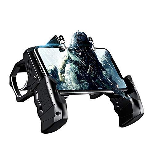 Newseego PUBG Mobile Game Controller, Controller del Telefono Gamepad con Trigger L1R1 per Shooter...