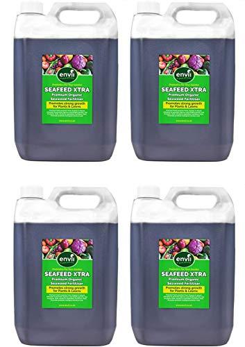Envii Seafeed Xtra - Fertilizante orgánico líquido de algas marinas - 20L