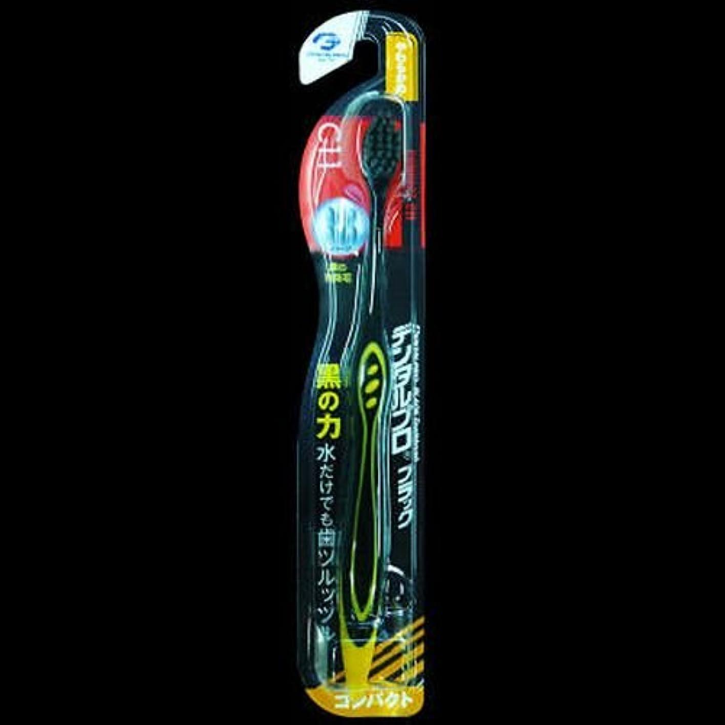 酒ディプロマホイットニーDPブラックハブラシコンパクトやわらかめ1ホン ×2セット