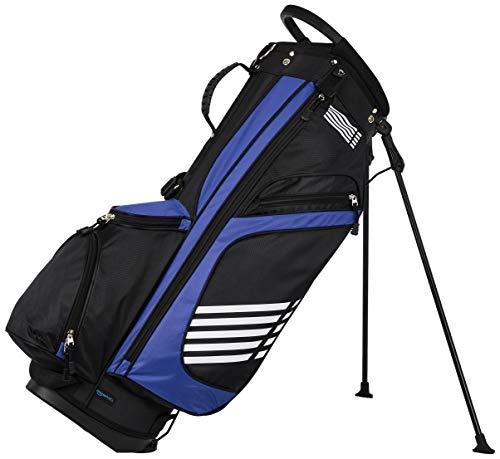 Amazon Basics Golf-Tasche mit Standfunktion, Blau