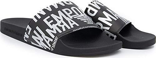 Emporio Armani Swimwear Slipper Glazed Metal, Sandalia Slide