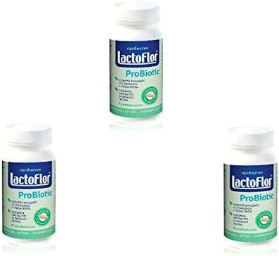 Lactoflor Probiotic-90caps.acidophilus bulgaricus Fresno Mall Very popular! bifido thermop