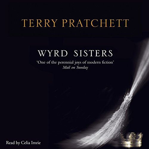 Wyrd Sisters                   By:                                                                                                                                 Terry Pratchett                               Narrated by:                                                                                                                                 Celia Imrie                      Length: 14 hrs and 44 mins     122 ratings     Overall 4.4
