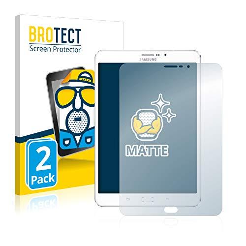 BROTECT 2X Entspiegelungs-Schutzfolie kompatibel mit Samsung Galaxy Tab Tab S2 8.0 LTE Bildschirmschutz-Folie Matt, Anti-Reflex, Anti-Fingerprint