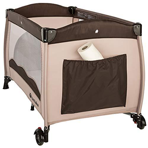 TecTake Kinderreisebett mit Schlafunterlage und praktischer Transporttasche - diverse Farben - (Coffee | Nr. 402417) - 5