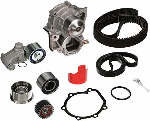 Gates TCKWP304ASF PowerGrip Premium Timing Belt Component Kit with Water Pump