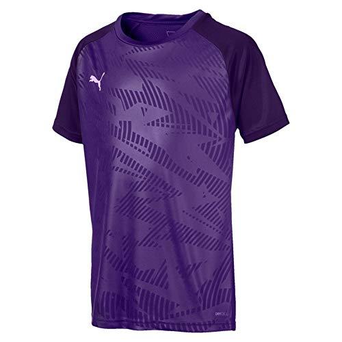 PUMA Cup Training Jersey Core Jr T-Shirt, Prism Violet-ParachutePurple, 152