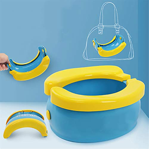 NIHE Potty Toilets For Toddlers, Foldable, Seat with Splash Guard - Lightweight & Portable Great for Travel, suitable for boys and girls