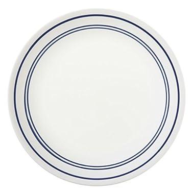 Corelle Livingware 8-1/2-Inch Luncheon Plate, Classic Cafe' Blue (6 Plates)