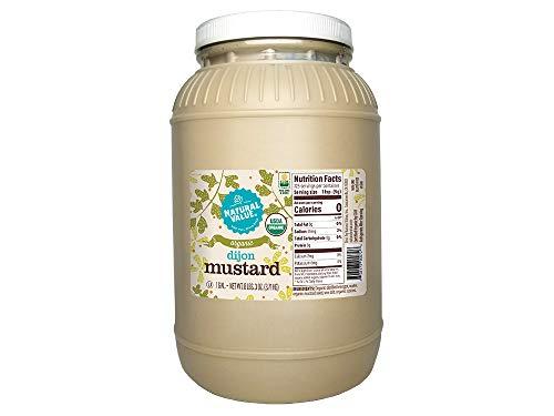 Natural Value 128-oz Food Service Organic Dijon Mustard / 4-ct. case