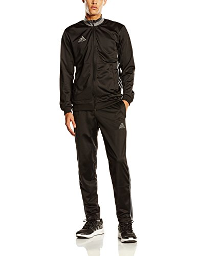 adidas Herren Trainingsanzug Condivo 16, Black/Vista Grey S15, L, AN9831