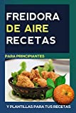 Freidora de aire Recetas: en ESPAÑOL