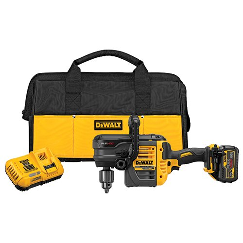 DEWALT FLEXVOLT 60V MAX Right Angle Drill Kit, Stud/Joist, 1/2-Inch, 1 Battery (DCD460T1)