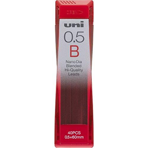 Uni NanoDia Mechanical Pencil 0.5 mm Lead, B (U05202NDB) by Uni