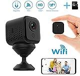 Mini telecamera spia WiFi, DEXILIO 1080P Telecamera nascosta wireless per sicurezza domest...