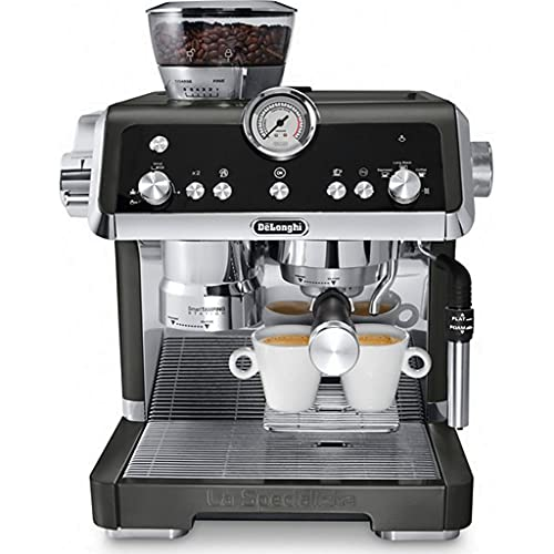 DeLonghi La Specialista Espresso Coffee Machine, Black with Sensor Grinding Technology, Creates The Perfect Coffee Dose, Brewing at The Ideal Temperature