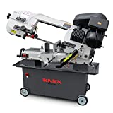 KAKA Industrial Metal Cutting Horizontal Band Saw 7' x 12' Capacity