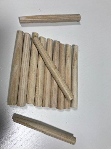 12 Stück Heuharkenzinken L x Ø: 11 x 1,2 cm Zinken für Heuharken (Zinke, Zinken,Heuharkenzinken, Heuharkenzinke für Heuharke) Rechen Garten Beet Heu