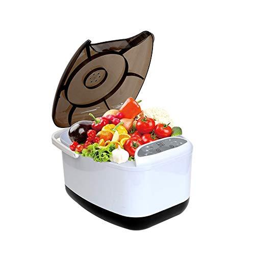 RBH Gemüse-Ozon-Reinigungsmaschine, 15 W Professional 4,5 l / 1,18 Gallonen Multifunktionale Maschine zur Reinigung von Obstlebensmitteln, geeignet für Familien/Restaurants