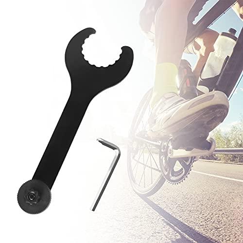 DEHUA Fahrrad Schraubenschlüssel, Innenlagerschlüssel, Kurbel-Werkzeug mit Inbusschlüssel, Tretlager Innenlager Montageschlüssel Werkzeug, Reparatur Tool für Mountainbike