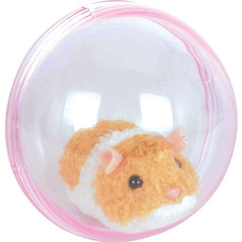 Tobar - 28771 - Peluche animée hamster qui cours dans sa boule, Collection Animigos