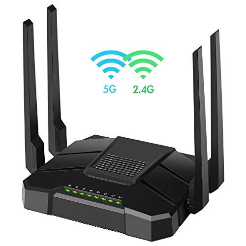 【2020 Newest】 Smart WiFi Router Dual Band Gigabit...