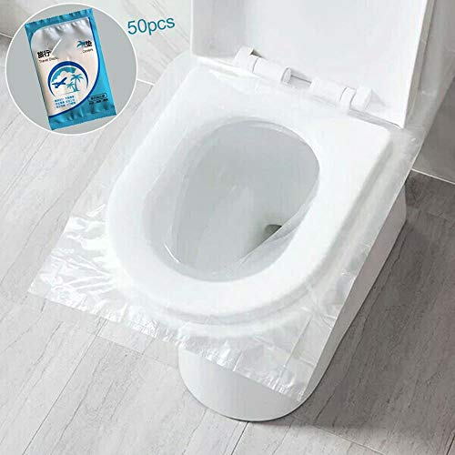 50 stücke Einweg Toilettenpapier Hotels Universal Wc Aufkleber Sitzbezug Geschäftsreisen Hocker Set Gesundheit Sicherheit Schutzfolie