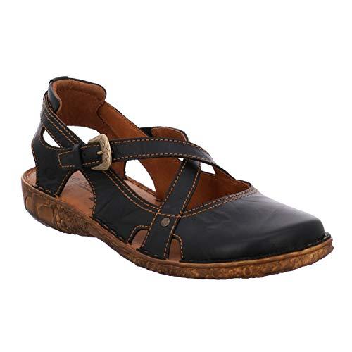 Josef Seibel dames sandalen Rosalie 13, vrouwen halve schoenen, open, oversized, leer
