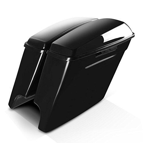 Sacoches Rigides Prolongés pour Harley Davidson Electra Glide Ultra Limited (FLHTK) 14-20 Non laqué