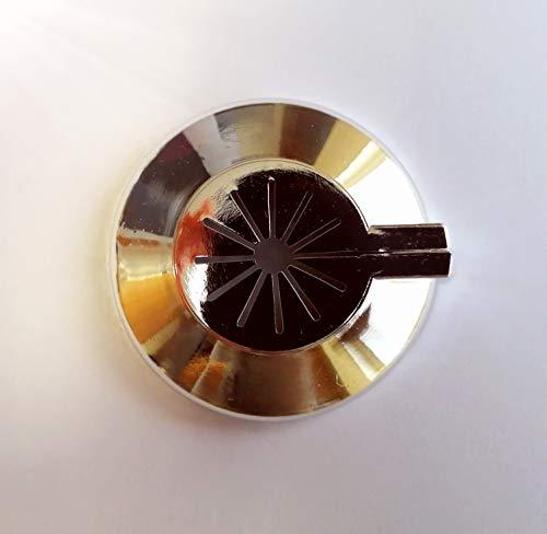 Roseta protectora para radiador, 10 unidades, cubierta para tubos de radiador, cubierta para tuberías, manguito de plástico, variable para tubos de diámetro de 8-22 mm, montaje rápido