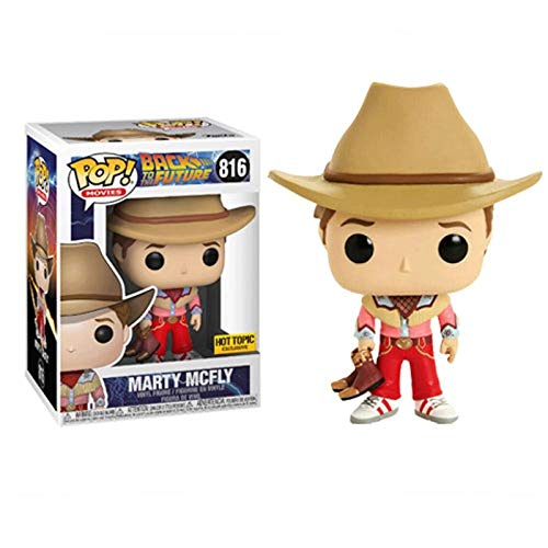 Funko Pop Movies: Retour vers le futur - Marty Mcfly (Hot Topic Exclusive) 3.75inch Vinyl Gift for Science Fiction Film Fans SuperCollection