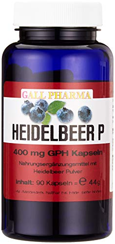 Gall Pharma Heidelbeer P GPH Kapseln, 90 Kapseln