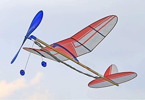 スタジオミド袋入りライトプレーンA級ペガサスゴム動力模型飛行機キットLP-04