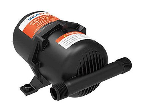 SEAFLO Accumulator Tank Water Pump Flow Control Internal Bladder 125 psi 23.5 oz