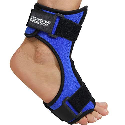 Plantarfasziitis Nacht-Orthese | Fersensporn-Bandage mit Biegsamer Fußspann-Schiene für Stabilisierung nach Fußverletzung |Hilft bei Fersensporn, Achillessehnenentzündung, Fersenschmerzen