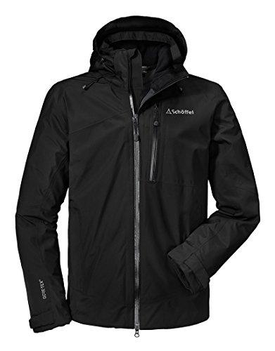 Schöffel Herren Jacket Padova1 Jacke, Black, 52