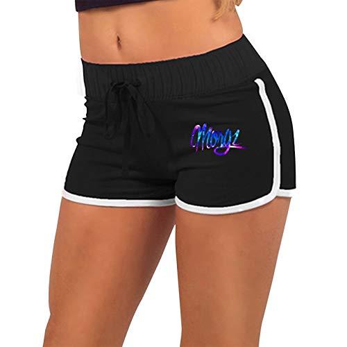 Mgz M-O-R_Gz Basics Mujer Active Wear Lounge Yoga Gym Pantalones Cortos Deportivos Casuales Pantalones Cortos de Entrenamiento de algodón