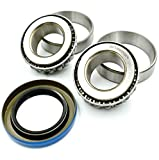 HD Switch (1 Kit) Fork Caster Bearing Rebuild Kit Replaces Ferris Snapper 5020883, 5020884, 5021072 - Free Seal Upgrade